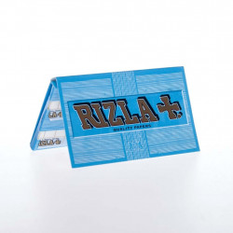 Carnet Rizla+ bleu regular de 100 feuilles à rouler