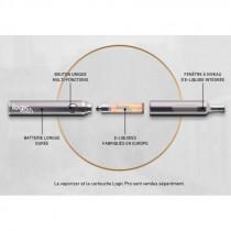 kit cigarette electronique Logic Pro avec capsules sans fuite pour vapoter.