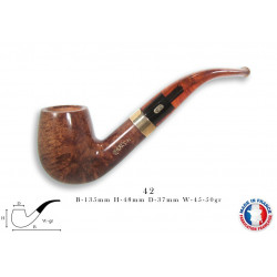 PIPE CHACOM CHURCHILL 9 MM 42