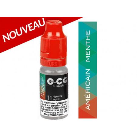 E-liquide AMERICAIN MENTHE (TABAC) VAP E-CG