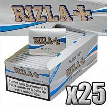 Carnet Rizla+ micron regular de 100 feuilles à rouler