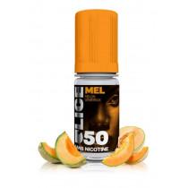 E-LIQUIDE MEL,  goût intense du melon mûr, sensation en bouche de fruit frais sublimé, douceur typée friandise - DLICE