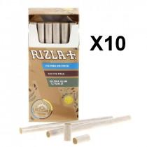 Filtres Rizla+ en stick ultra slim 5.7 mm 120 filtres