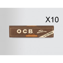 Papier OCB Virgin slim + filtres (toncar) à rouler