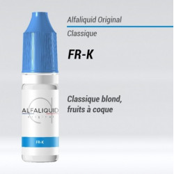 E-LIQUIDE FR-K - Classic blond fruits à coque - ALFALIQUID