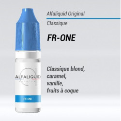 E-LIQUIDE FR-ONE - classic blond, caramel, vanille, fruits à coque - ALFALIQUID