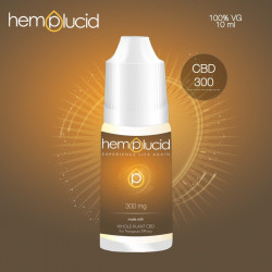 E-LIQUIDE CBD 300 mg - Hemplucid Whole-Plant