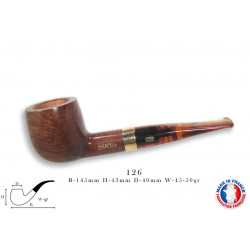PIPE CHACOM CHURCHILL 9 MM 126