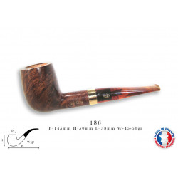 PIPE CHACOM CHURCHILL 186 - 9 MM