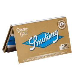 Carnet de Smoking Regular Gold – 120 feuilles