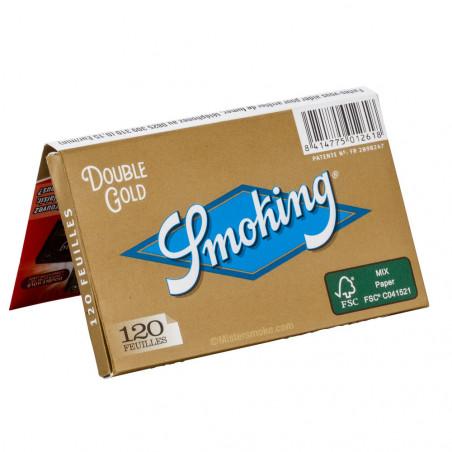 Carnet de Smoking Regular Gold – 120 feuilles