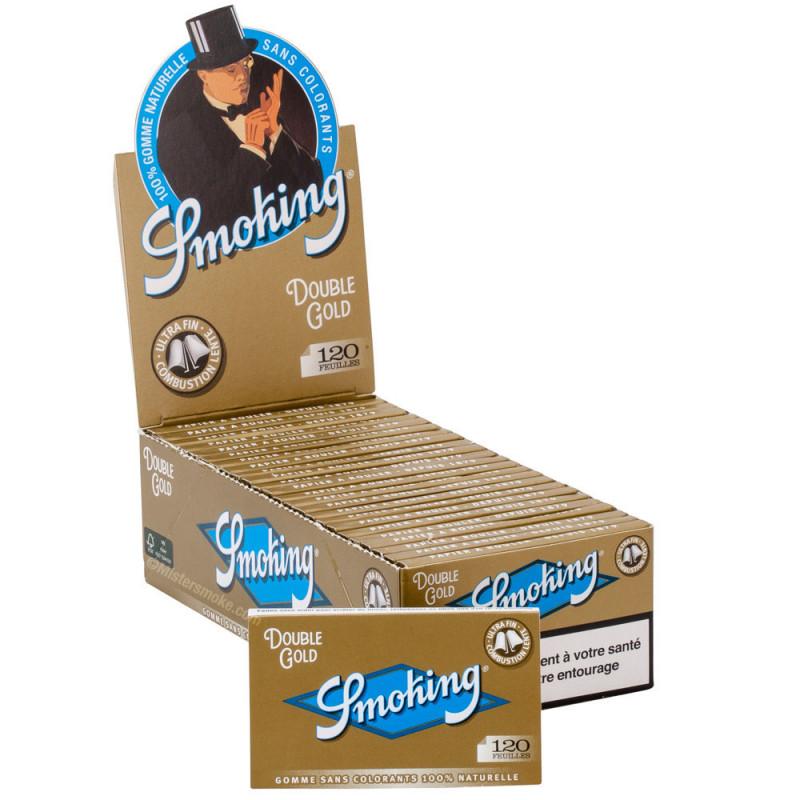25 X Carnet de Smoking Regular Gold – 120 feuilles