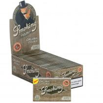 25 X Carnet de Smoking Organic double – 120 feuilles