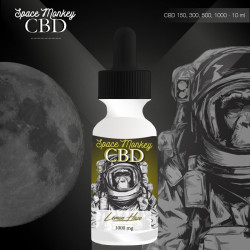 E-liquide CBD 300 mg Lemon Haze - Space Monkey