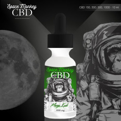 E-liquide CBD 150 mg Mango Kush - Space Monkey