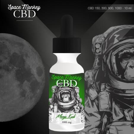 E-liquide CBD 150 mg Mango Kush - Space Monkey