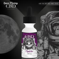 E-liquide CBD 500 mg Purple Haze - Space Monkey