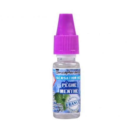 E-LIQUIDE PREMIUM PECHE  MENTHE  - ICE SENSATION - CONCEPTAROME