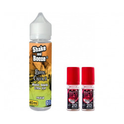E-LIQUIDE  EXOTIC CREEK + NICOSHOOT 10ML - SHAKE N BOOZE
