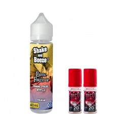 E-LIQUIDE  EXOTIC FOREST + NICOSHOOT 10ML - SHAKE N BOOZE