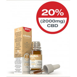 Huile CBD 20% CBD (2000mg) Authentic CIBDOL 10ml