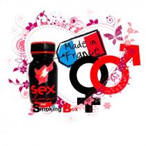 Poppers Sexline rouge, made in france, est un arôme euphorisant qui libère vos pulsions sexuelles, chez votre buraliste.