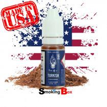 E-liquide US Halo Turkish, saveur tabac classic blond sec doux américain pour cigarette electronique. Valeur sûr.