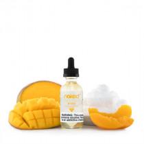 E-liquide US NAKED 100 Amazing Mango, saveur mangue et créme de pêche pour une vape dense en nuage en atomiseur sub-ohm.