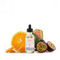 E-liquide US NAKED 100 Hawaiian Pog, saveur fruit de passion, goyave et orange pour une vape à l'américaine sur box mod sub-ohm.