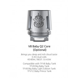 résistance-smok-v8-baby-Q2-tfv12-prince-baby-clearomiseur