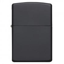 Black matte, Zippo, garantie à vie pour allumer votre cigarette de tous les jours.