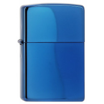 Sapphire, Zippo, garantie à vie pour allumer votre cigarette de tous les jours.