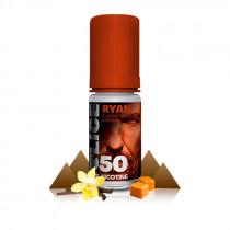 E-liquide Ryan, dont la saveur délicieusement agréable de classic type RY4 (tabac blond classic, caramel, vanille)