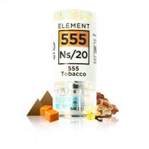 Pod ns 555 tabacco au sel de nicotine, tabac virginia, noisette, amande, pistache caramelisé, vanille, capsule scélle NS Gusto.