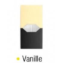 Recharge Vanille juulpod cartouche ou capsule pré-remplie sans fuite fabriquer par juul labs americain.