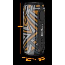 Box iStick Rim 3000 mAh - Eleaf - batterie intégrée - dimension - compact et léger