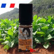 Tabac blond origine Mostacha liquide macéré aux feuilles de tabac - Origine France - Terroir Garonne pour fumeur de cigarette.