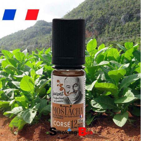 Tabac Corsé MOSTACHA - tabac macéré du sud-Ouest France - Laurent producteur à Cuzon -