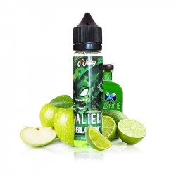 E-LIQUIDE ALIEN BLOOD 50ml - Pomme citron vert absinthe - O'JUICY