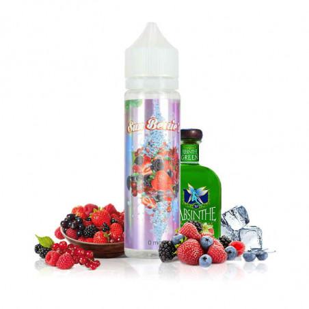 E-LIQUIDE SUN BERRIES 50ml - fruits rouges absinthe fraiche - O'JUICY
