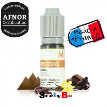 LIEGEOIS un liquide tabac blond au note de café vanillé et chocolat - sel de nicotine - The fuu