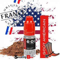 E-liquide americain US tabac classic blond type marlboro rouge, cowboy cow-boy ecg e-cg ocb buraliste cigarette electronique.