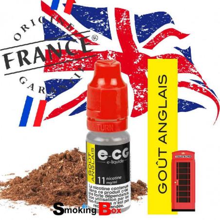 E-liquide anglais UK tabac classic blond type benson gold ecg e-cg ocb buraliste-origine france garantie cigarette electronique.