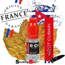 E-liquide CIGARE CUBAIN HAVANE E-CG VAP