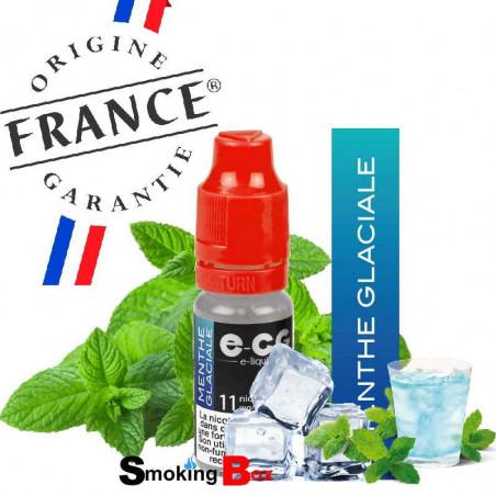 e-liquide menthe glaciale ultra frais fraiches sensation ecg e-cg ocb buraliste origine france garantie cigarette electronique