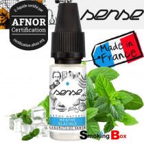 E-liquide menthe glaciale pour une sensation frais et intense. E-liquide français au norme Afnor, pas cher au bureau de tabac.
