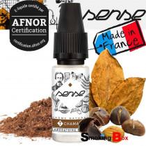 E-liquide Tabac blond CHAMAN, saveur tabac classic grillé et séché certifié Afnor pour cigarette electronique pas cher.