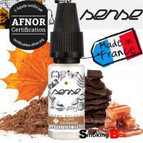 E-liquide T blond gourmand, laboratoire phodé sense, tabac classic blond, note caramel, chocolat, sirop d'écrable cigarette.