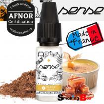 E-liquide T blond doux, saveur tabac classic blond doux, note caramel, créme brulée certifié Afnor pour cigarette electronique.