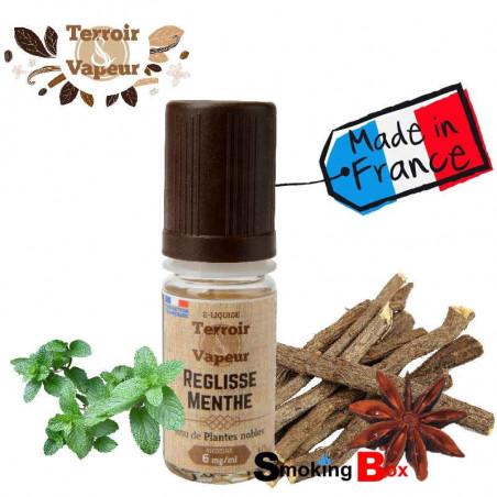 Liquide et arome réglisse menthe, anise - français - Terroir & Vapeur